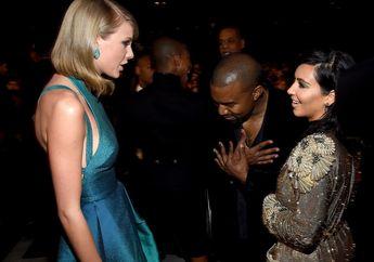 Sempat Berseteru, Ini Perbandingan Kekayaan Properti Taylor Swift dan Kanye West