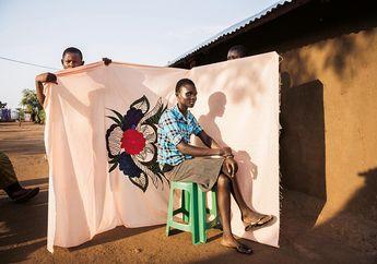 Milaya, Kain Indah yang Tersisa dari Kekejaman Perang di Sudan Selatan