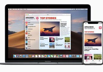 Bocoran Kode Program Ungkap Langganan Apple News di macOS Mojave