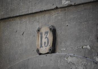 13 Sebagai Angka Sial, Apa Penyebab Munculnya Mitos Tersebut?