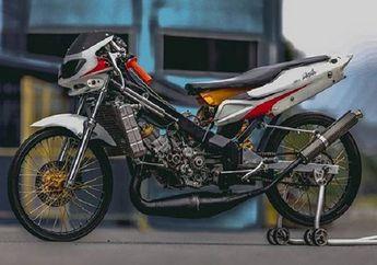 Sadis Bebek 2-Tak Balap Liar Mesin GP125 Power di Atas Sport 250 cc