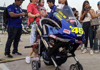 Kalau Rossi Punya Momongan Udah Ada Nih Baby Stroller Bergaya M1