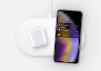 Gambar AirPower Bersama iPhone XS Bocor di Web Apple