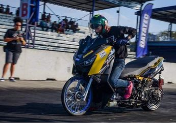 Bengis, Yamaha XMAX 250 Diajak Drag Bike, Waktunya Bikin Melongo