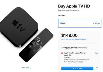 Apple TV Generasi ke-4 Ganti Nama Menjadi 'Apple TV HD'