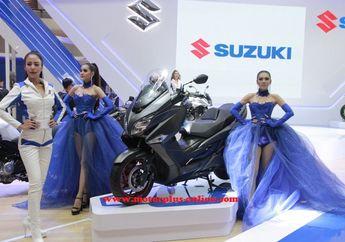 Lama Ditunggu, Suzuki Burgman 400 Akhirnya Dirilis, Pakai Mesin DOHC dan Teknologi ISC