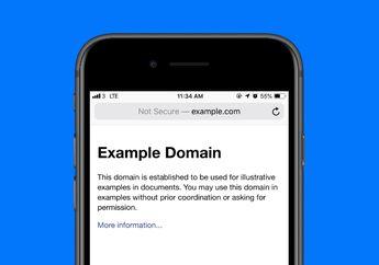 Mengenal Arti Tulisan 'Not Secure' di Safari iOS 12.2