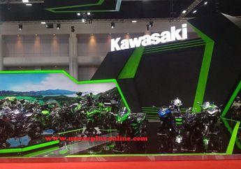 Tanpa Motor Baru di BIMS ke-40, Kawasaki Malah Luncurkan Sepeda Pintar