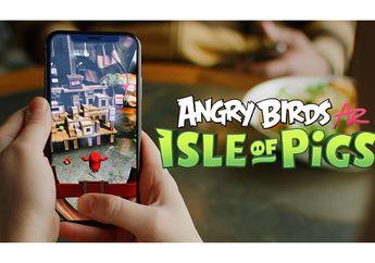 Angry Birds AR: Isle of Pigs, Main Games Angry Birds Lebih Nyata!