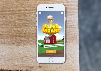 Apple Luncurkan Games Pertamanya di App Store: Warren Buffett's Paper Wizard