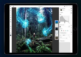 Adobe Lakukan Uji Coba Photoshop CC di iPad, Rencana Rilis 2019?