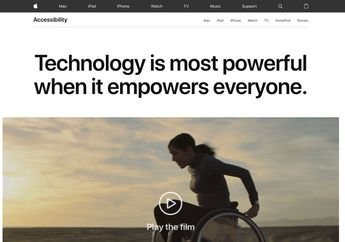 Apple Rayakan Global Accessibility Awareness Day dengan Promosi Khusus