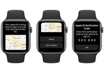 Jaga Privasi, watchOS 6 Mampu Terima Kode Verifikasi Apple ID