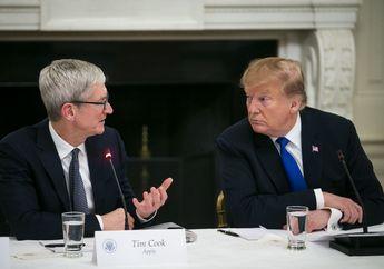 Karyawan Apple Dukung Upaya Tim Cook Dekat dengan Donald Trump