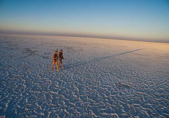FOTO : Delta Okavango Kala Mengering