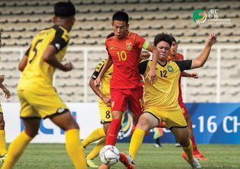 Hasil Kualifikasi Piala Asia U-16 2020 -  Libas Kepulauan Mariana Utara Brunei Darussalam Geser Posisi Indonesia