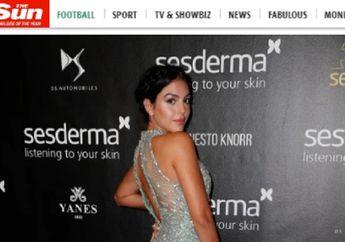 Berbalut Gaun Mewah, Georgina Rodriguez Tunjukkan Pesona di Hadapan Publik