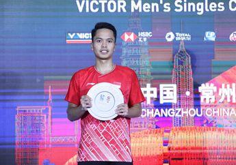 Anthony Ginting Bongkar Tuntas Masalahnya Jelang Denmark Open 2019