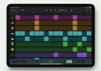 GarageBand Mendukung Dark Mode dan Akses Media Ekstrnal di iOS 13