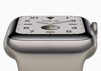 Baterai Apple Watch Series 5 Punya Desain Baru dengan Case Metal