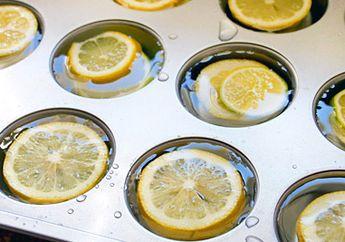 Gak Cuma Berikan Sensasi Baru, Lemon Beku Ternyata Punya 9 Khasiat Menakjubkan Ini