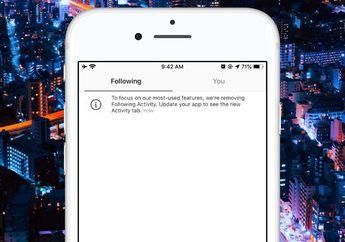 Instagram Hapus Tab Activity Following, Jaga Privasi Pengguna Lain?