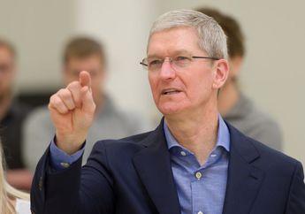 Tim Cook Dikuntit Orang Tak Dikenal, Apple Ajukan Penahanan Sementara