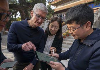 Penjualan Apple di Tiongkok Semakin Stabil, Harapan Tim Cook Menguat