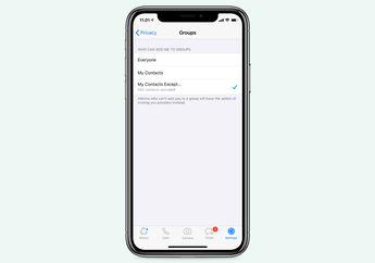 Update WhatsApp Punya Fitur Tolak Undangan Masuk ke Group Chat
