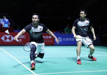 Hong Kong Open 2019 - Ahsan/Hendra Bertemu Duo Menara China di Semifinal