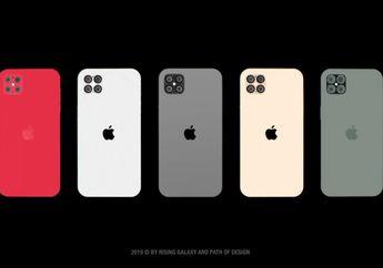 iPhone Tahun Depan Punya Desain Model Baru Berukuran 5,4 Inci
