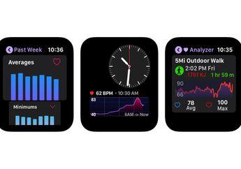 Heart Analyzer Rilis Aplikasi Baru Apple Watch, Tampilkan Data Lengkap