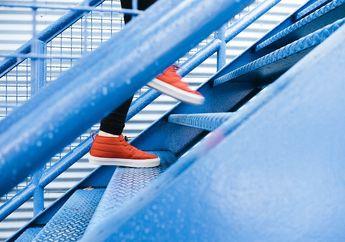 Cara Efektif Hindari Serangan Jantung Hanya dengan Naik Turun Tangga