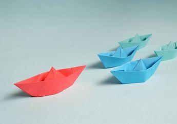 Membuat Origami Ini Tidak Susah Jika Tahu Triknya, Berkreasi Bersama Mombi, yuk!