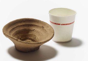 Manusia Kuno Sudah Gunakan Gelas Sekali Pakai Sejak Ribuan Tahun Lalu