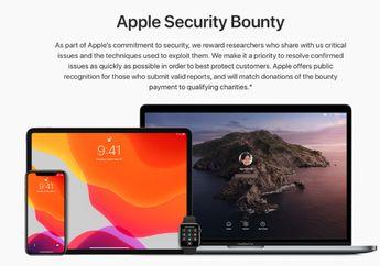 Apple Buka Bug Bounty Program Untuk Umum, Berhadiah 1 Juta Dolar