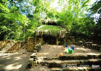Istana Peninggalan Suku Maya Ditemukan di Tengah Hutan Meksiko
