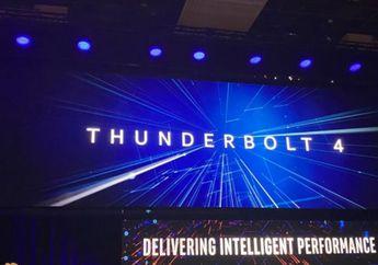 Intel Perkenalkan Thunderbolt 4, Tapi Hanya 4 Kali Lipat USB 3?