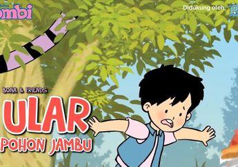 Ular Pohon Jambu, Cerita Anak Kisah Bona and Friends