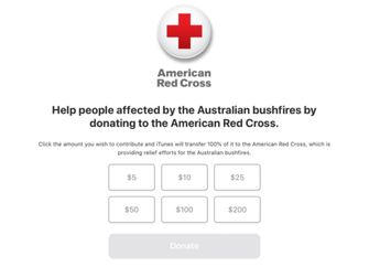 Bersama Palang Merah, Apple Membuka Donasi Kebakaran Australia