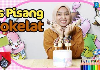 Cara Mudah Membuat Es Pisang Cokelat, Bahan-Bahannya Mudah Didapatkan