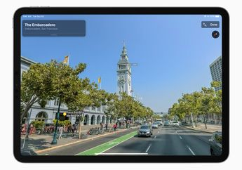 Desain Baru Apple Maps Rilis untuk Pengguna di Amerika Serikat