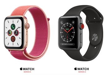 Daftar Harga Apple Watch Series 5 dan Apple Watch Series 3 di Indonesia