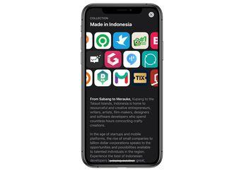 Apple Tampilkan Katalog Aplikasi Buatan Indonesia di App Store