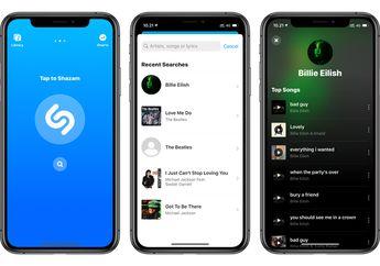 Update Shazam Mendukung Fitur Pencarian dan Hapus Mode Jepret