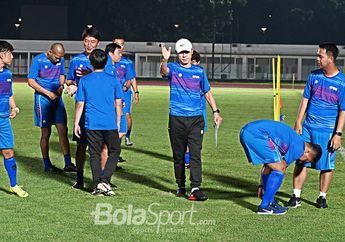 Latih Fisik Kiper Timnas Indonesia, Shin Tae Yong: Gerakan Kamu Seperti Kakek-kakek