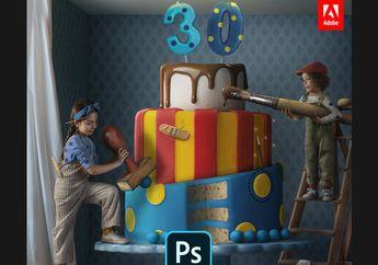 Rayakan 30 Tahun, Adobe Photoshop Hadirkan Fitur Baru Pada iPad