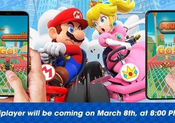 Fitur Multiplayer di Mario Kart Tour for iOS Resmi Rilis 8 Maret