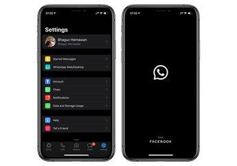 Lama Ditunggu, Akhirnya WhatsApp for iPhone Mendukung Dark Mode