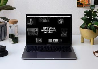 Apple.com Peringati International Women's Day dengan Tampilan Khusus